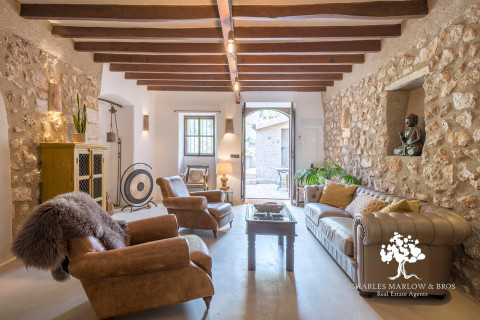 Beautifully restored luxury townhouse in Deia's old town