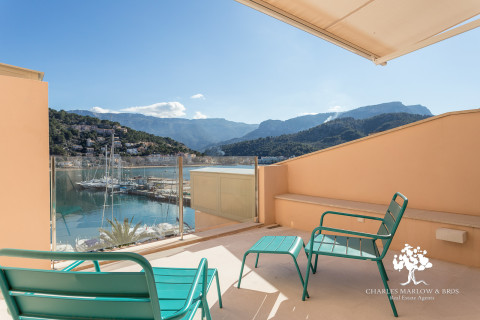 Two apartments in Port Soller's fishing village